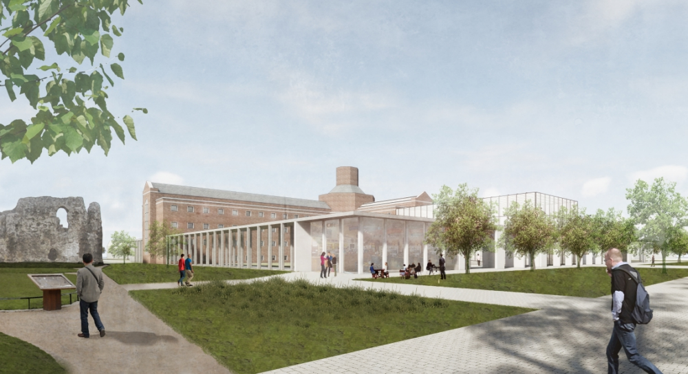 Arts centre plan for Reading Gaol