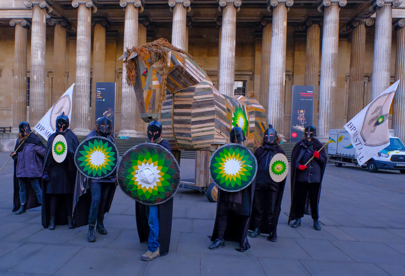 Trojan horse invades British Museum exhibition