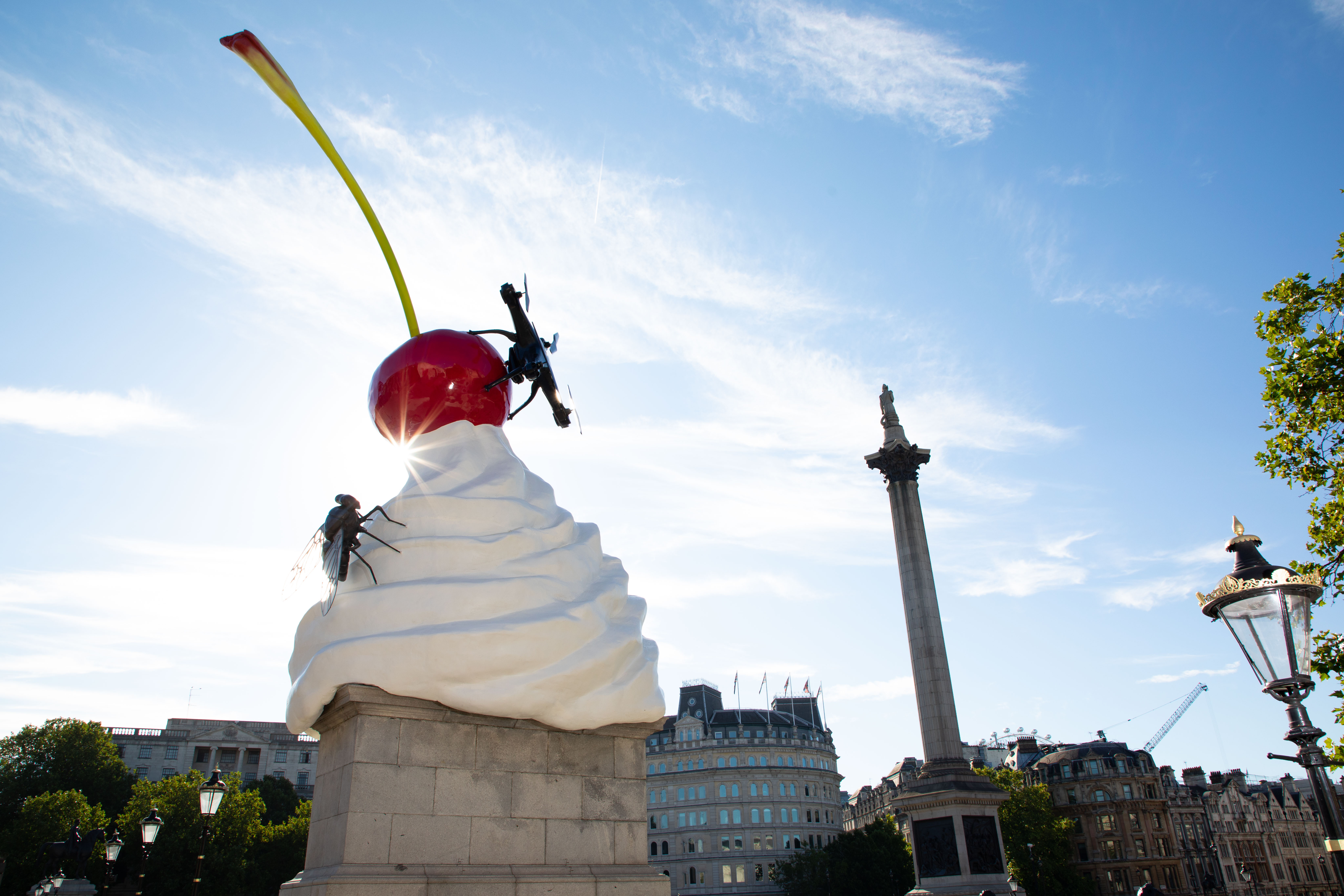 THE END reaches the Fourth Plinth