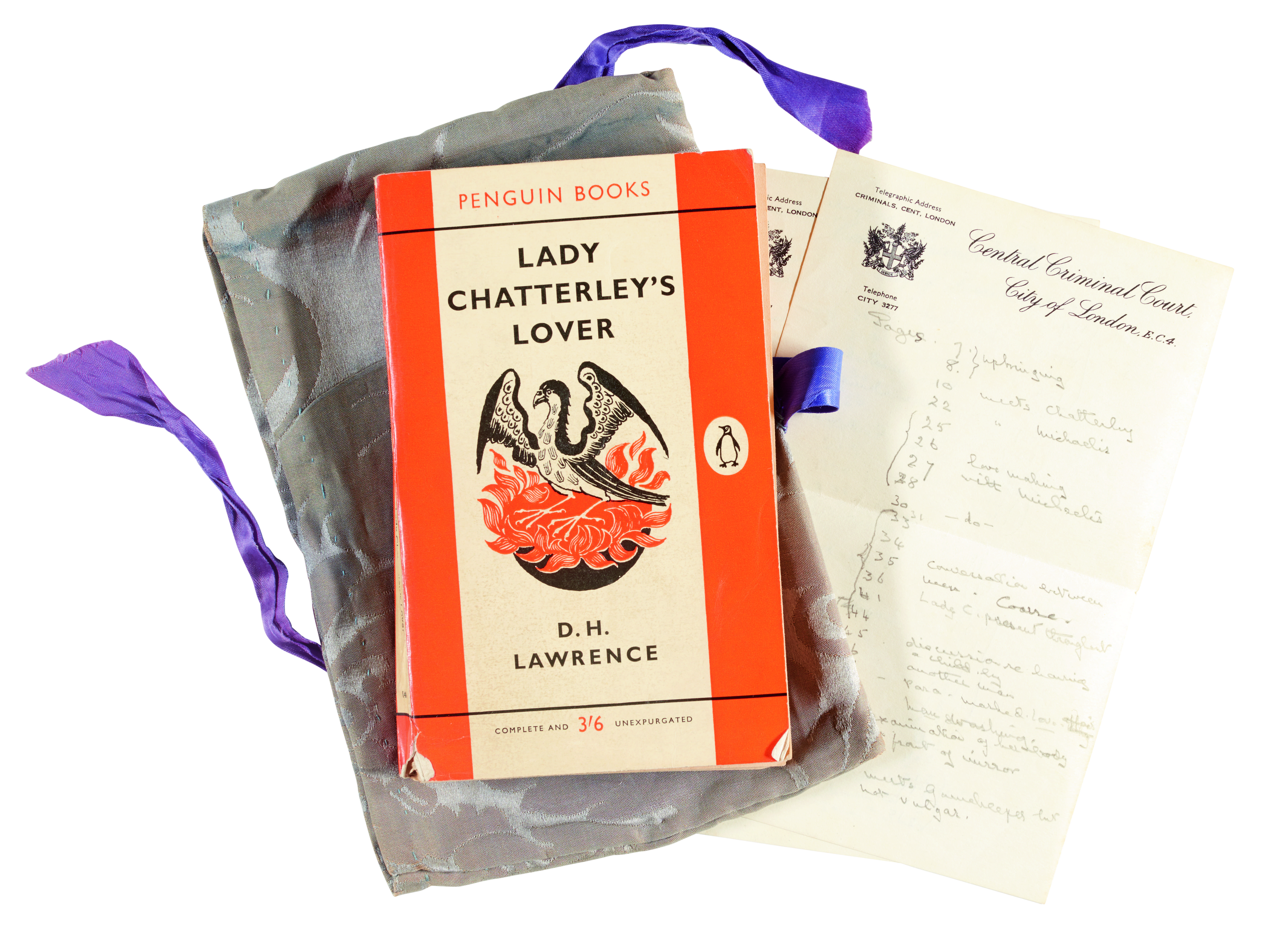 Export block on judge's Chatterley copy