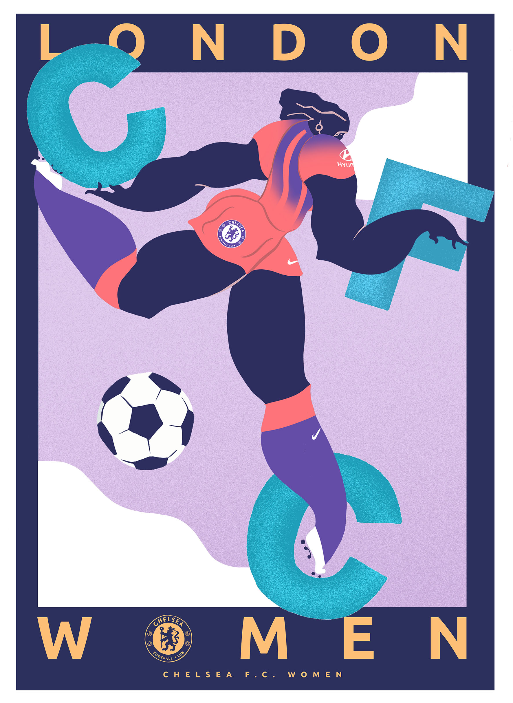 It's a match – women's soccer and art