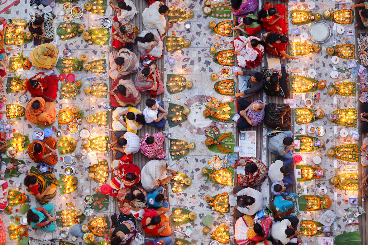 Holy feast wins food photo prize