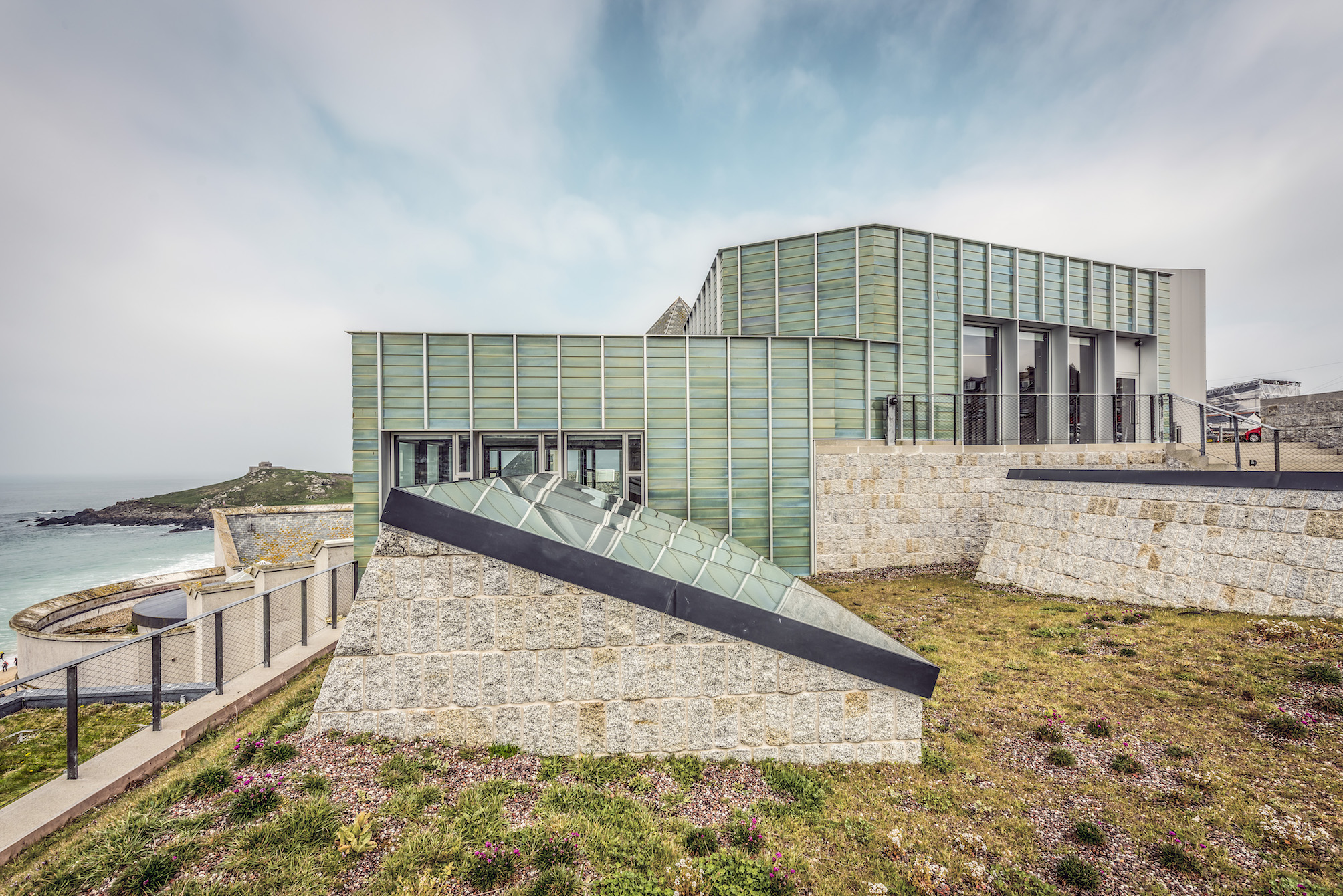 Tate St Ives 'carved out of rock' is Museum of the Year